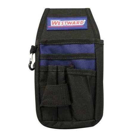 Universal Organizer w/ Metal Belt Clip,  Black/Blue