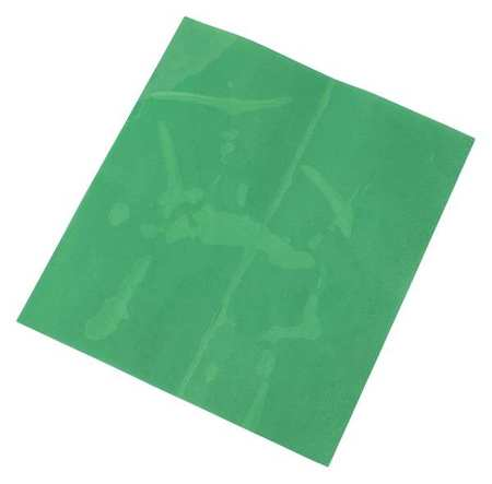 Label, Green, 10 In. H, 9 In. W