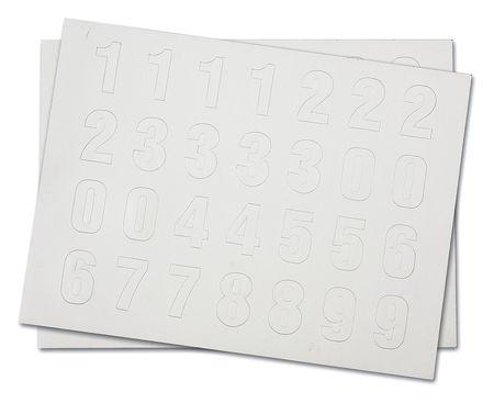 Magnetic Number Kit, 0 Thru 9, PK112