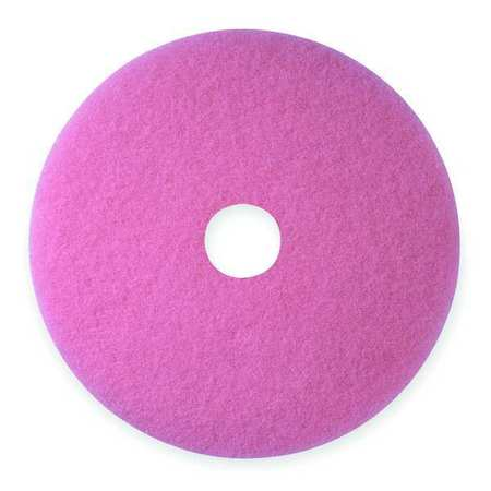 Burnishing Pad, 27 In, Pink, PK5