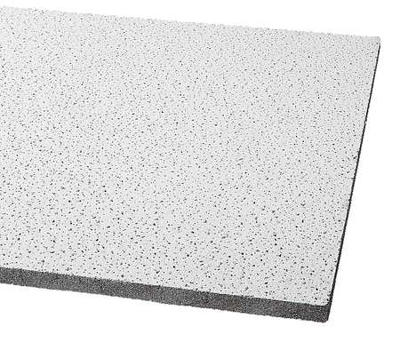 "Acoustical Ceiling Tile 48""X24"" Thickness 5/8"",  PK12"