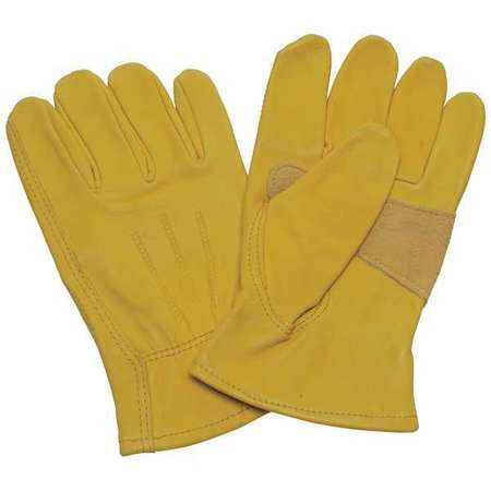 Leather Drivers Gloves, Cowhide, 2XL, PR