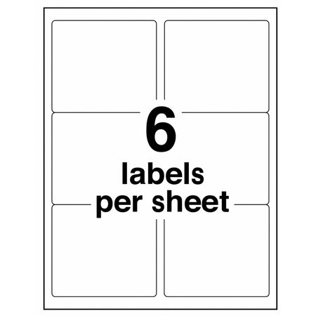 Avery avery shipping label for laser printers 5164 pk100 for Avery 5164 template pdf