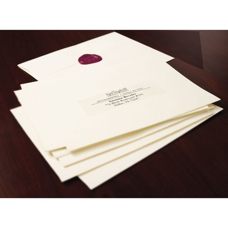 Avery Avery Clear Easy Peel Address Labels For Laser Printers 5662