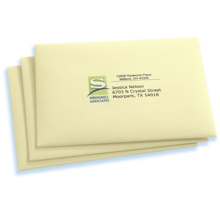 avery avery clear easy peel shipping labels for laser printers