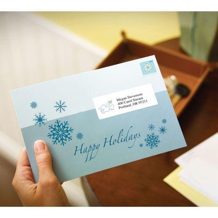 avery avery easy peel address labels for inkjet printers 8160 1