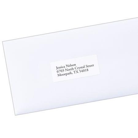 avery avery ecofriendly address labels 48460 1 x 2 5 8 box of 3