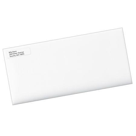 avery avery clear easy peel return address labels for inkjet