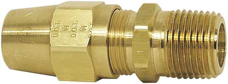 Ml Connector, Hex 7/8 In, PK10