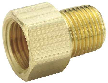 "1/4"" Flare x MNPT Brass Connector 25PK"