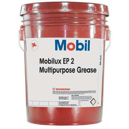 Mobilux EP 2,  EP Grease, NLGI 2,   5 gal