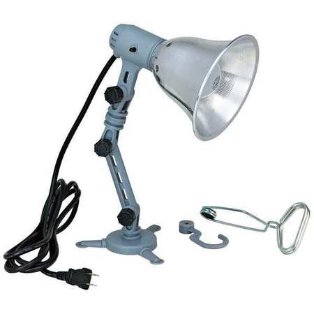 LUMAPRO Incandescent Grey Job Site Light