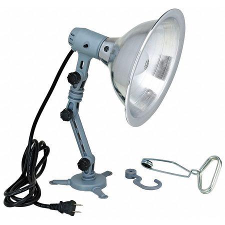 LUMAPRO Incandescent Grey Job Site Light