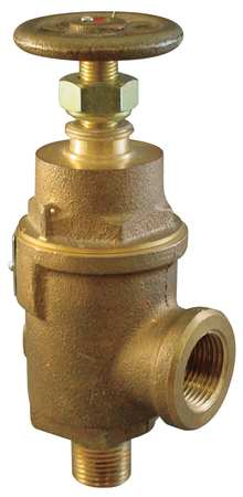 Adjustable Relief Valve, 2In, 50psi, Bronze