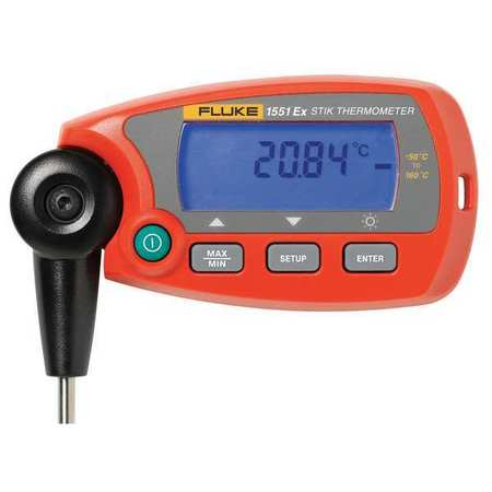 RTD Thermometer, -112 to 572F, Digital