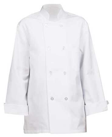 Unisex Chef Coat,  XS,  White