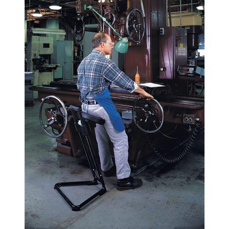 Sit/Stand Stool Height Range 23-1/2  to 33-  sc 1 st  Zoro.com & Lyon Sit/Stand Stool Height Range 23-1/2