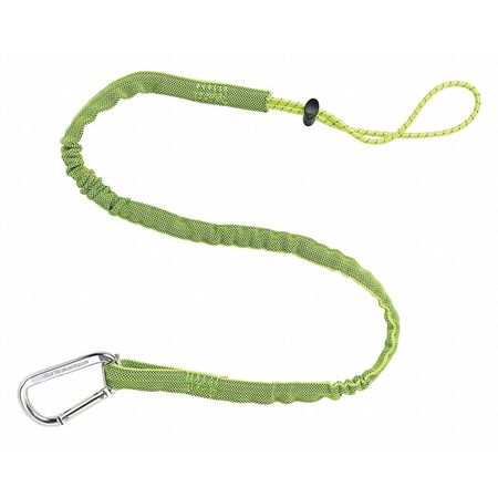 Tool Lanyard, 35 to 42 In. L, Lime, 10 lb.