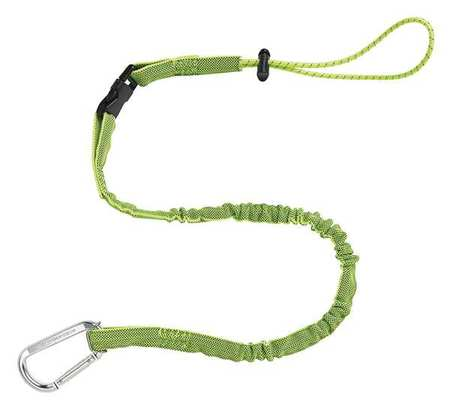 Tool Lanyard, 5 lb., 35 to 42 In. L, Lime