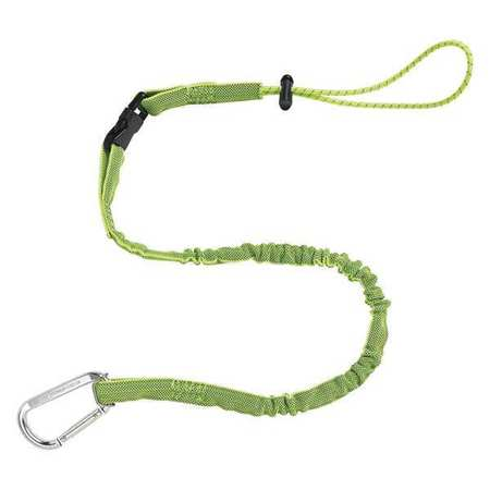Tool Lanyard, 5lb., 42 to 54 In. L, Lime