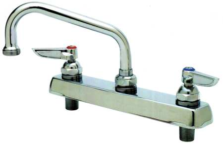 Swing Kitchen Faucet,  Chrome,  2 Holes
