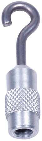 Aluminum Hook, M6 Thread