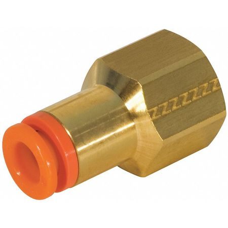 12mm Tube Brass Female Adapter