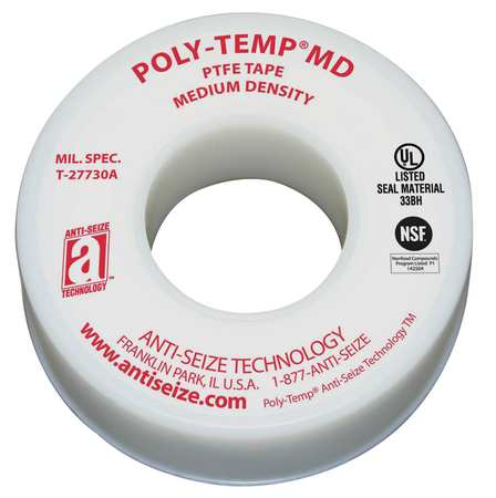 Sealant Tape, 1/4 In. W, 520 In. L