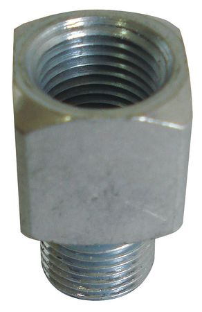 Grease Fitting, Straight, Square, PK5