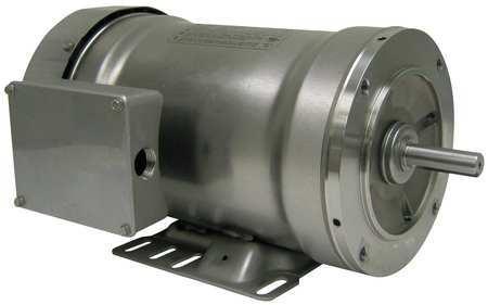Washdown Motor, 3 Ph, TEFC, 1 HP, 3450 rpm