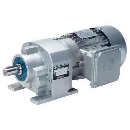 AC Gearmotor, 111 rpm, TEFC, 230/460V