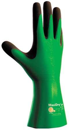 """Chemical Resistant Glove, 12"""" L, Sz 7, PR"""
