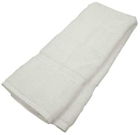 Hand Towel,  16x30 In,  White, PK12