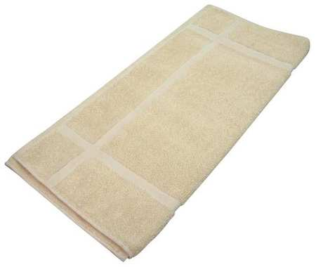 Bath Towel, 24x48 In., White, PK12