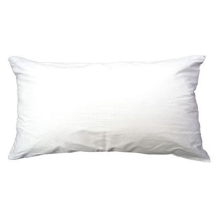 Pillow,  King ,  37x21 In.,  White