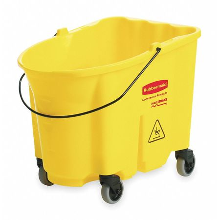 Mop Bucket, 8.75 gal., Yellow