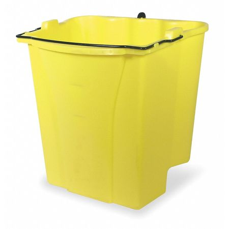Mop Bucket Accessory, 4-1/2 gal., Yellow
