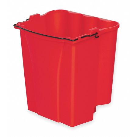 Mop Bucket Accessory, 4-1/2 gal., Red