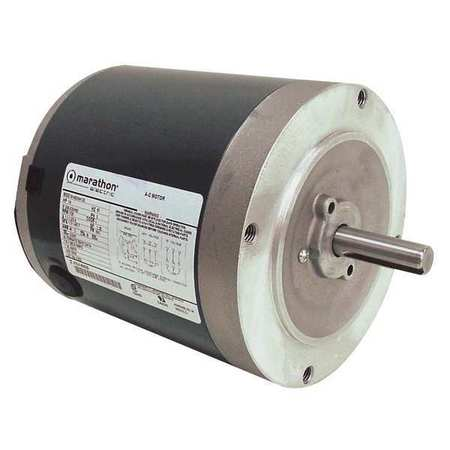 Mtr, 3 Ph, 1/4hp, 1725, 208-230/460, Eff 67.4
