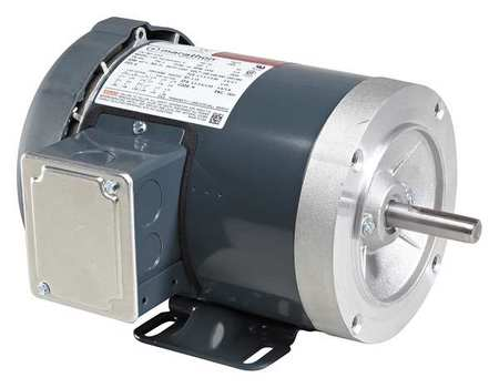 Mtr, 3 Ph, 2 HP, 3450, 208-230/460V, Eff 83.0