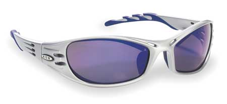 3M Blue Mirror Safety Glasses,  Scratch-Resistant