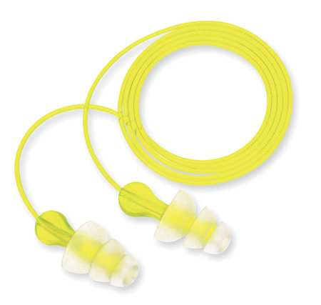 Reusable Ear Plugs, 26dB, Corded, Univ, PK100