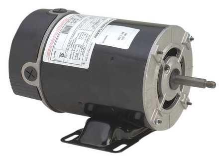 Pump Mtr, Split Ph, 3/4hp, 3450, 115, 48Y, ODP