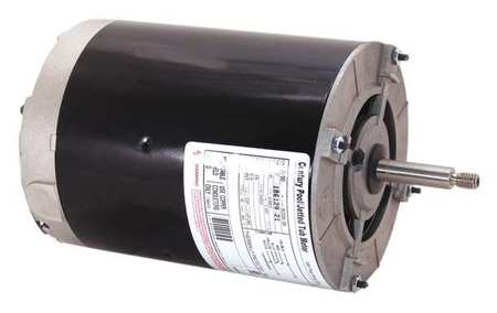 Pump Mtr, Split Ph, 1 HP, 3450, 115V, 48Y, ODP