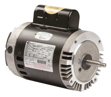 Pool Pump Motor, 2 HP, 3450 RPM, 230VAC