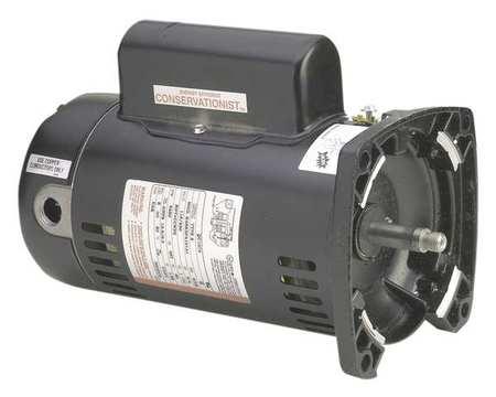 Pump Motor, 1 HP, 3450, 115/230 V, 48Y, ODP