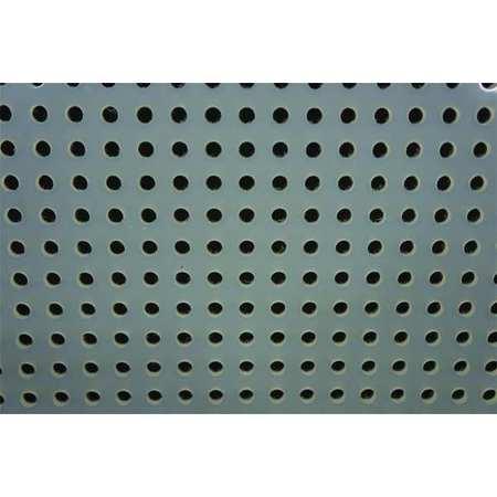 Sheet, Perf, Poly, 48x32, 0.250T, 0.250 D, Rnd