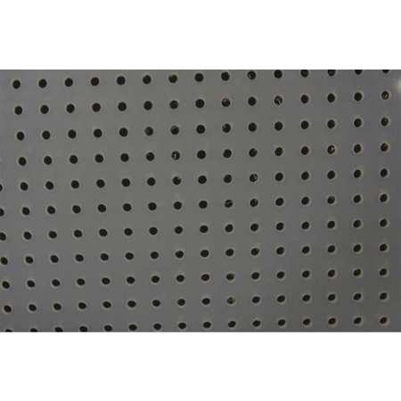 Sheet, Perf, Poly, 48x32, 0.125T, 0.188 D, Rnd