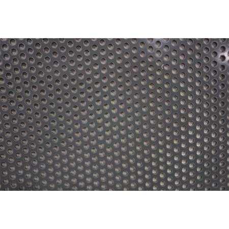 Sheet, Perf, PVC, 48x32, 0.125 T, 0.188 D, Rnd