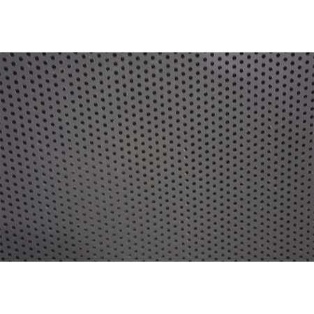 Sheet, Perf, PVC, 48x32, 0.125 T, 0.094 D, Rnd